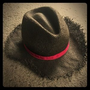 Crazy 8 Woven Beach Cowgirl Hat